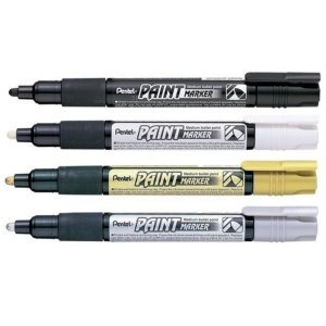 Marcador Permanente Paint Marker Pentel