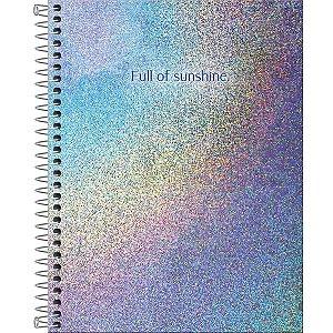 Caderno Colegial Tilibra Glow 1 Matéria 80 Folhas - Tilibra