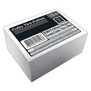 Bloco Rascunho Em Cubo Tira-Folhas Branco 600 Folhas Tilibra