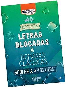 Apostila Letra Blocada e Romanas Clássicas Brw