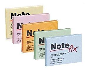 Bloco Adesivo 76x102 C/100 Folhas Note Fix