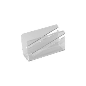 Porta Guardanapo de Acrílico Transparente com Recorte