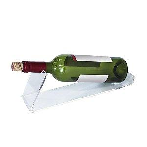 Suporte Garrafa de Vinho de Acrílico - Adega 1 Garrafa