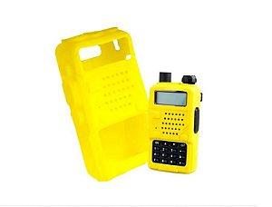 Capa Silicone Proteção Para Rádio Baofeng Uv5r 5ra