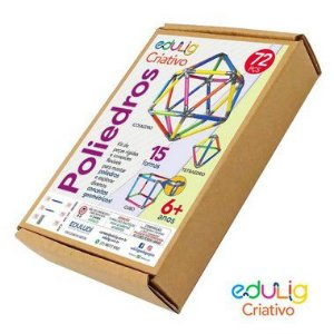 Brinquedo Educativo Edulig Criativo Poliedro