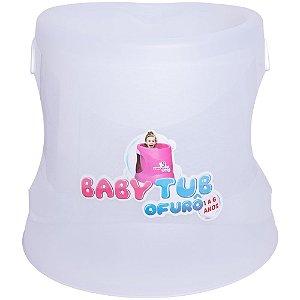 Banheira Infantil Ofurô BabyTub Transparente