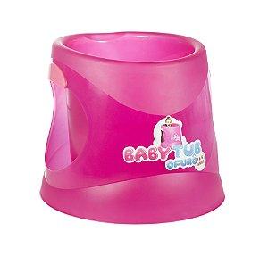 Banheira Infantil Ofurô BabyTub Fluor Pink