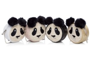 Bolsinha de Mão Lequikids Panda - ROSA