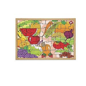 Quebra-Cabeça Frutas e Legumes
