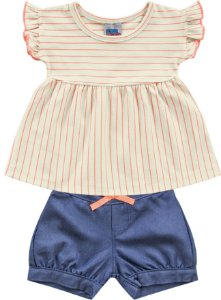 Conjunto infantil Menina kiko Baby