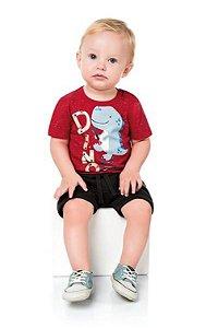 Camiseta Infantil Menino Kiko Baby