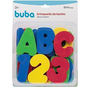 Brinquedo de Banho Letras e Números