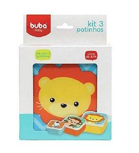 Kit Potinhos Animais