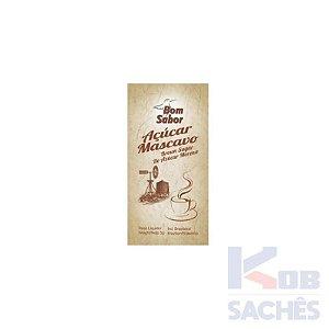 Açúcar Mascavo Bom Sabor 5g caixa c/ 200 unidades