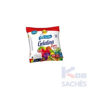 Pó para Gelatina Diet Abacaxi Lowçucar 200g caixa c/ 10 unidades