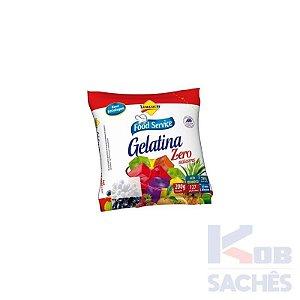 Pó para Gelatina Diet Framboesa Lowçucar 200g caixa c/ 10 unidades