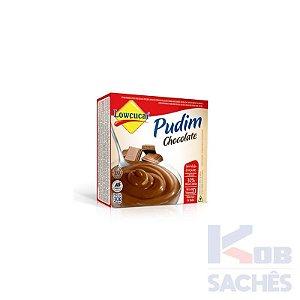 Pó para Pudim Diet Chocolate Lowçucar 30g caixa c/ 18 unidades
