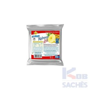Pó para Refresco Diet Abacaxi Lowçucar 80g caixa c/ 10 unidades