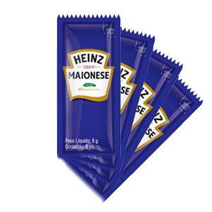 Maionese Sachê Heinz 8g caixa c/ 192 unidades