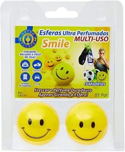 ESFERAS ULTRA PERFUMADAS SMILE AMARELA  ORTHOPAUHER