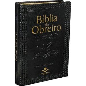 Bíblia do Obreiro Capa Sint. Preto ARC