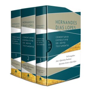 Novo Testamento BOX Comentários Expositivos Hernandes Dias Lopes