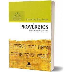 Provérbios Comentários Expositivos Hernandes Dias Lopes