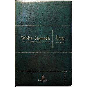 Bíblia Sagrada Leitura Perfeita Letra Grande Verde NVI