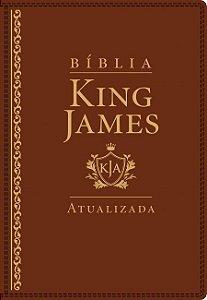 Bíblia King James Atualizada KJA Ed. Original de Estudo letra grande