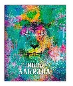 BIBLIA ACF LEAO COLOR CAPA DURA