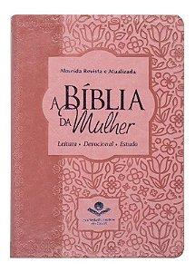 A BIíblia da Mulher rosa claro