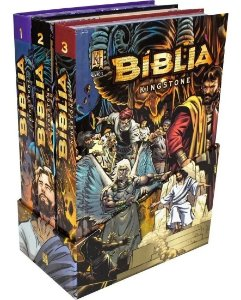 Box Bíblia Kingstone 3 vol.