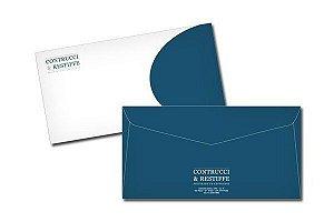 Envelopes p/ Papel A4 - 500und - 24x34 Cm