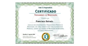Certificado Couchê - 200unds - 250gr (4x0)