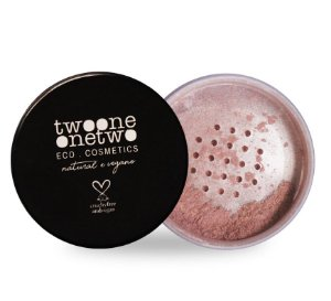 Iluminador Facial Leite de Coco Natural Vegano Twoone Onetwo 9g Pearl