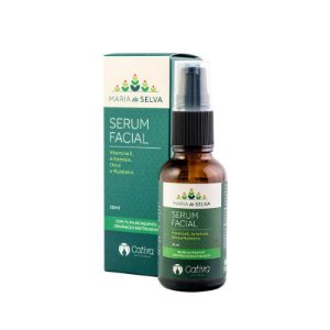 Sérum Facial Natural e Vegano Maria da Selva Cativa Natureza 30 ml