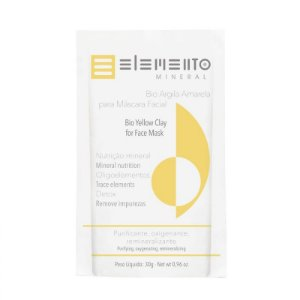 Bio Argila Amarela - Elemento Mineral -30g