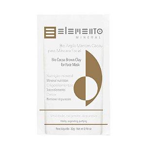Bio Argila Marrom Cacau- Elemento Mineral -30g
