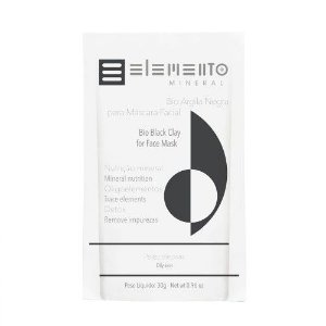 Bio Argila Negra - Elemento Mineral -30g