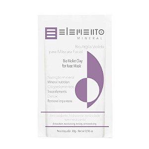 Bio Argila Violeta - Elemento Mineral -30g