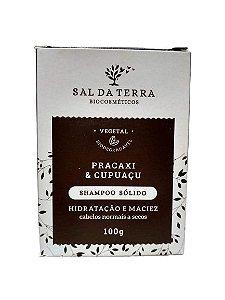 Shampoo Sólido Pracaxi e Cupuaçu - Sal da Terra - 100g
