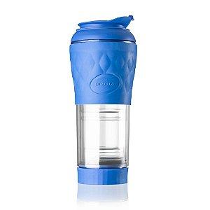 Cafeteira Portátil Pressca Azul 350 ML