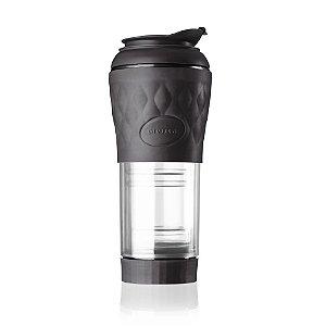 Cafeteira Portátil Pressca Preta 350 ML