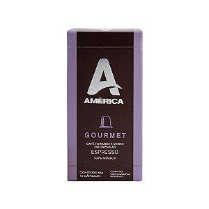 Cápsula Café América Gourmet