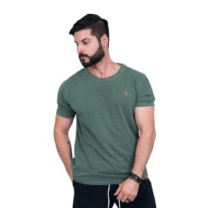 Camiseta  Estonada Masculina, Leaf.