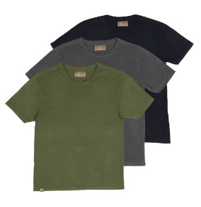 KIT  3  Camisetas, Forest.