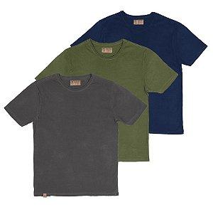 Kit  3 Camisetas,Woods.