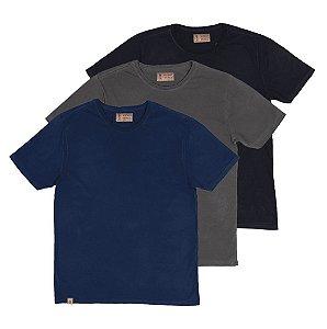 Kit 3 Camisetas, Stones.