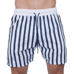 Shorts Tactel Masculino Listrada