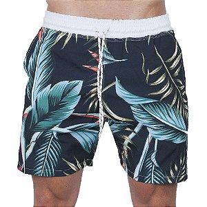 Shorts Tactel Masculino Preto Bromélia